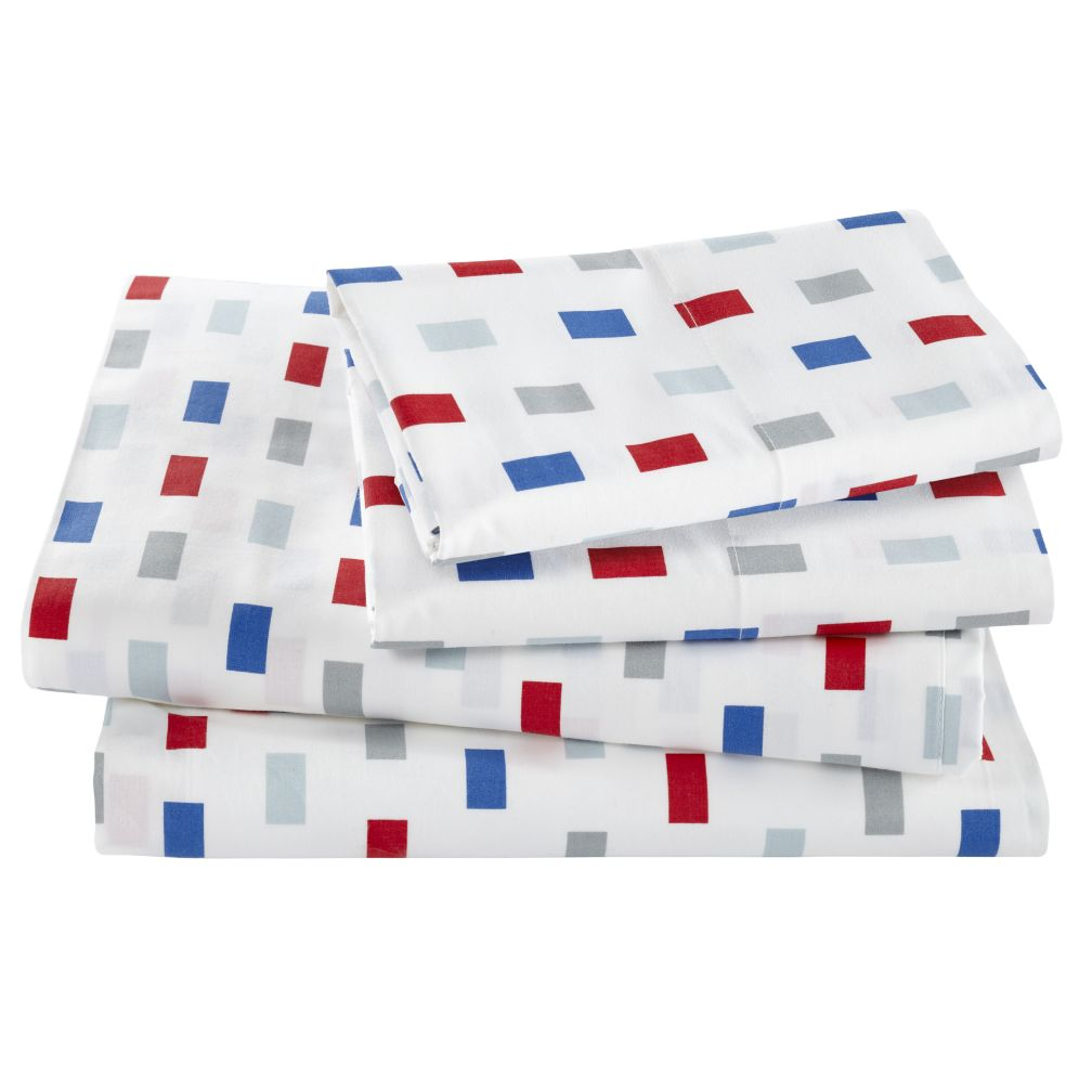 Solid Stripes Sheet Set