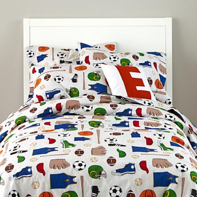 Athletic Commission Duvet Cover