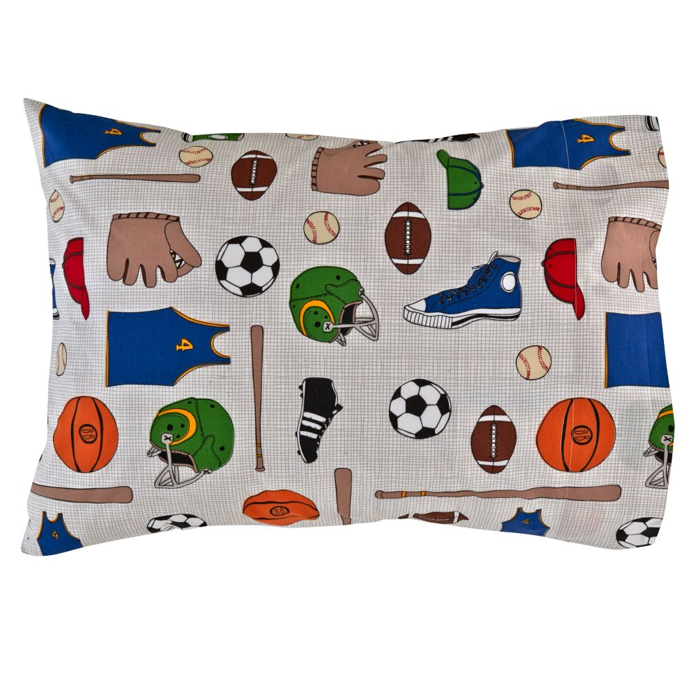 Athletic Commission Pillowcase