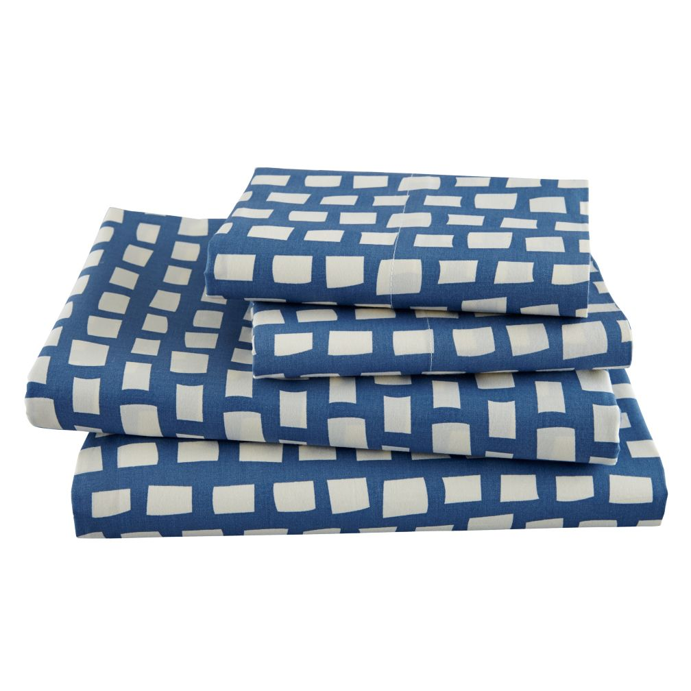 Squared Away Sheet Set (Full)