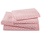 Queen Streets of Paree Sheet Set (includes 1 fitted sheet, 1 flat sheet and 2 cases)