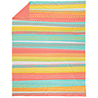 Twin Sundae Best Striped Duvet Cover