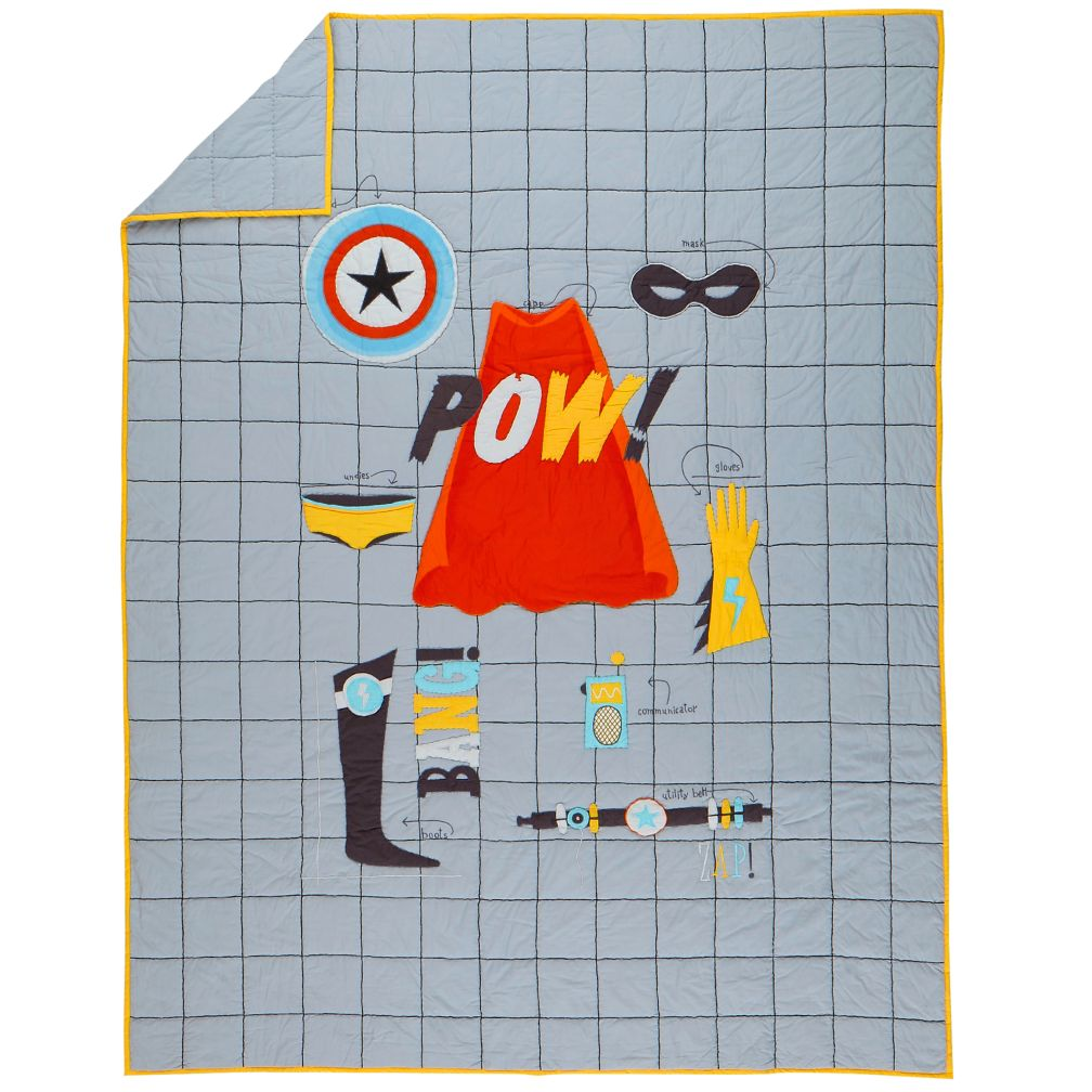 Twin Super Hero Quilt