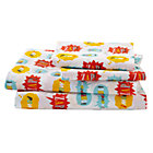 Full Super Sheet Set(includes 1 fitted sheet, 1 flat sheet and 2 cases)
