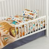 Lions and Tigers Toddler Bedding