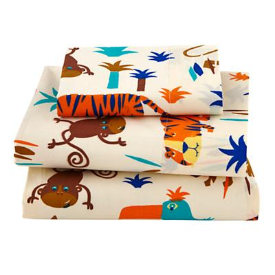 Lions and Tigers Toddler Sheet Set