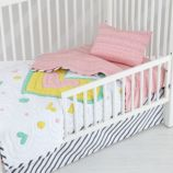 Pattern Party Toddler Sheet Set