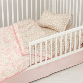 Well Nested Organic Toddler Sheet Set (Pink)