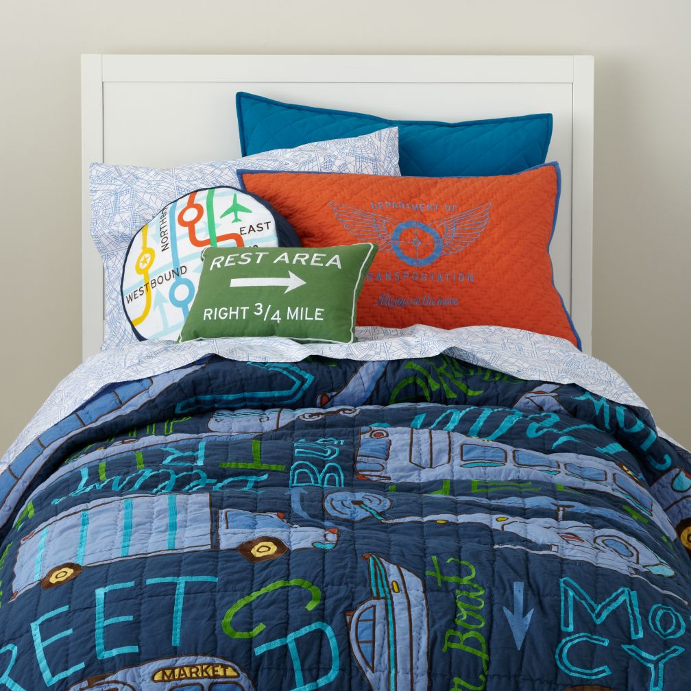 Transit Authority Bedding