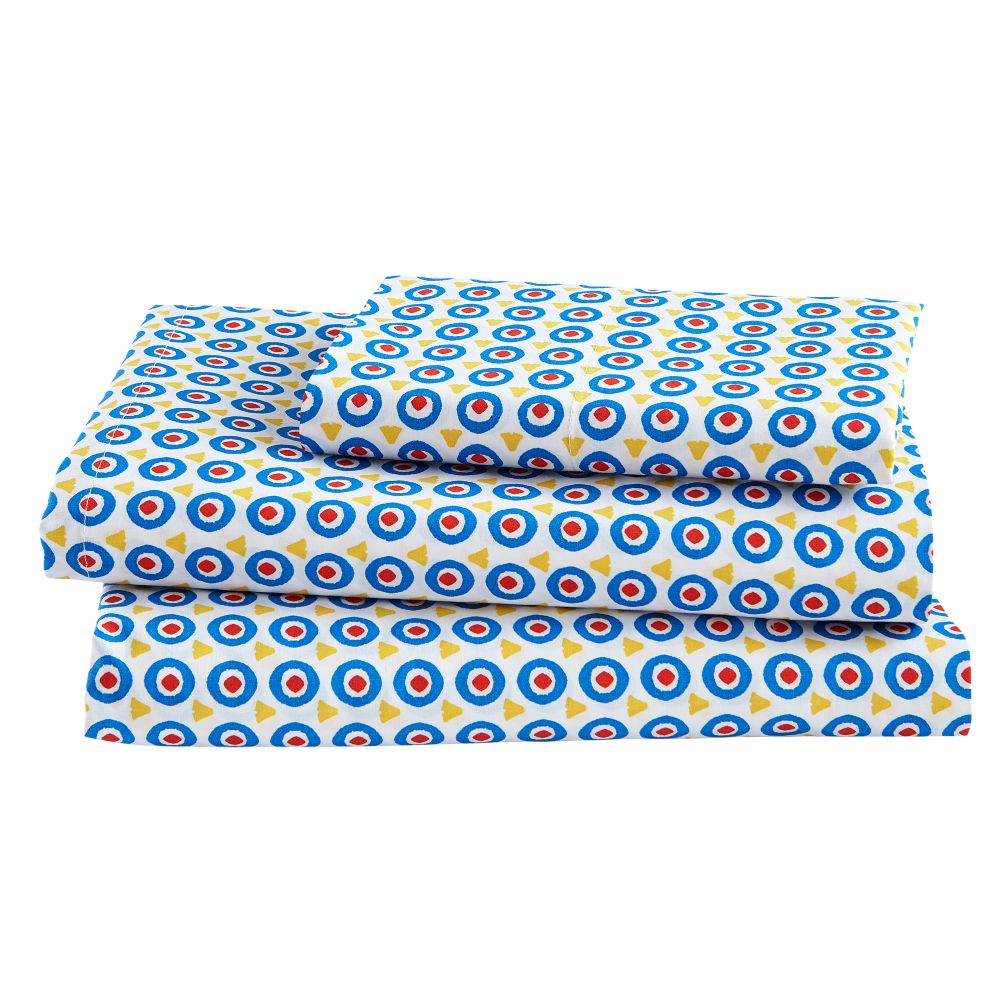 Twin Travel Arrangements Sheet Set