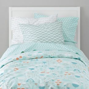 Well Nested Organic Bedding (Blue)