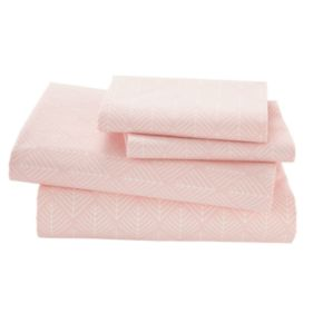 Well Nested Organic Sheet Set (Pink)