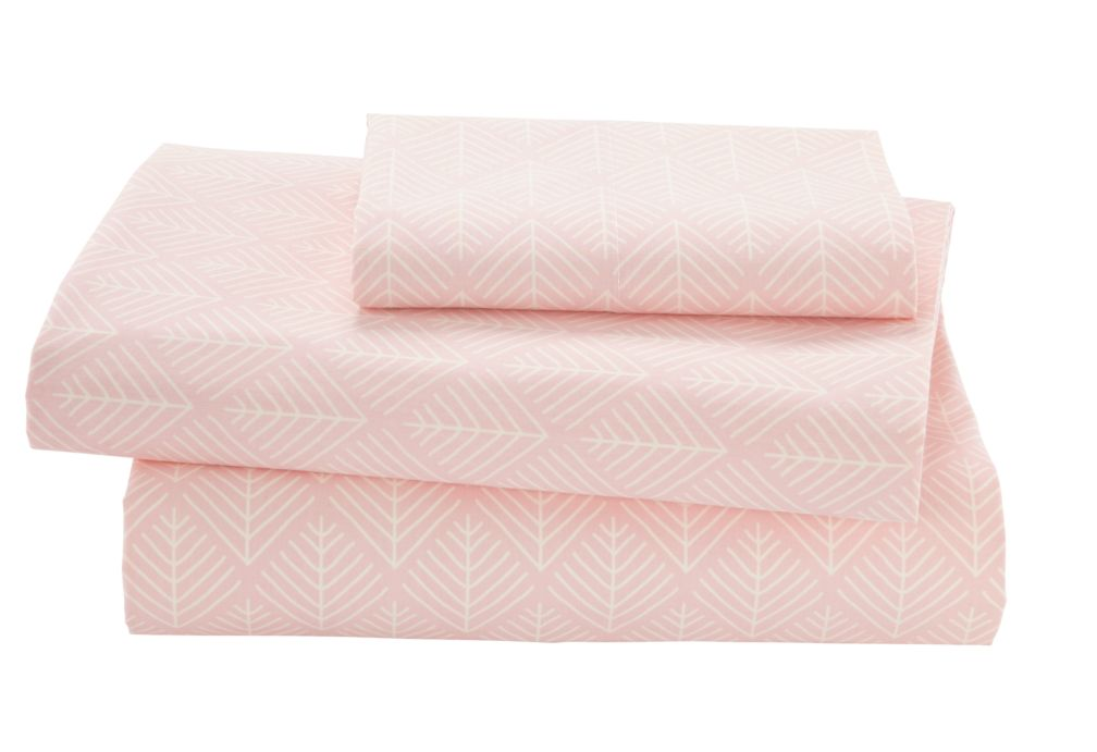 Twin Well Nested Sheet Set (Pink)