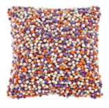 Pom Pom Throw Pillow Cover