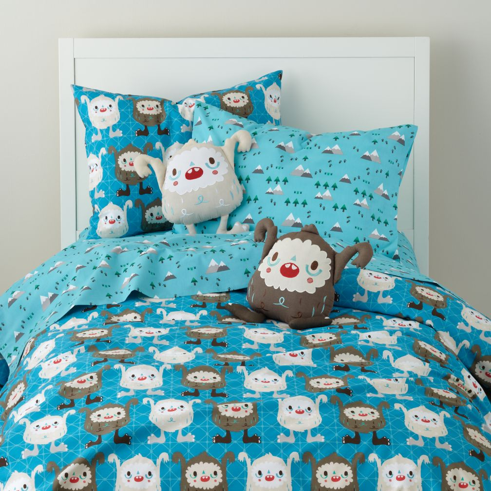 Yeti for Bed Duvet Cover