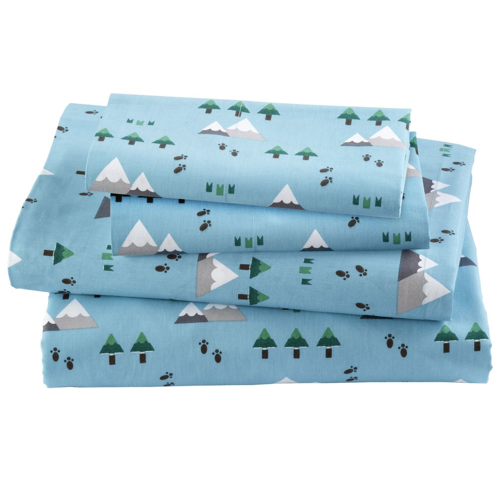 Yeti for Bed Sheet Set (Twin) in Sheet Sets | The Land of Nod