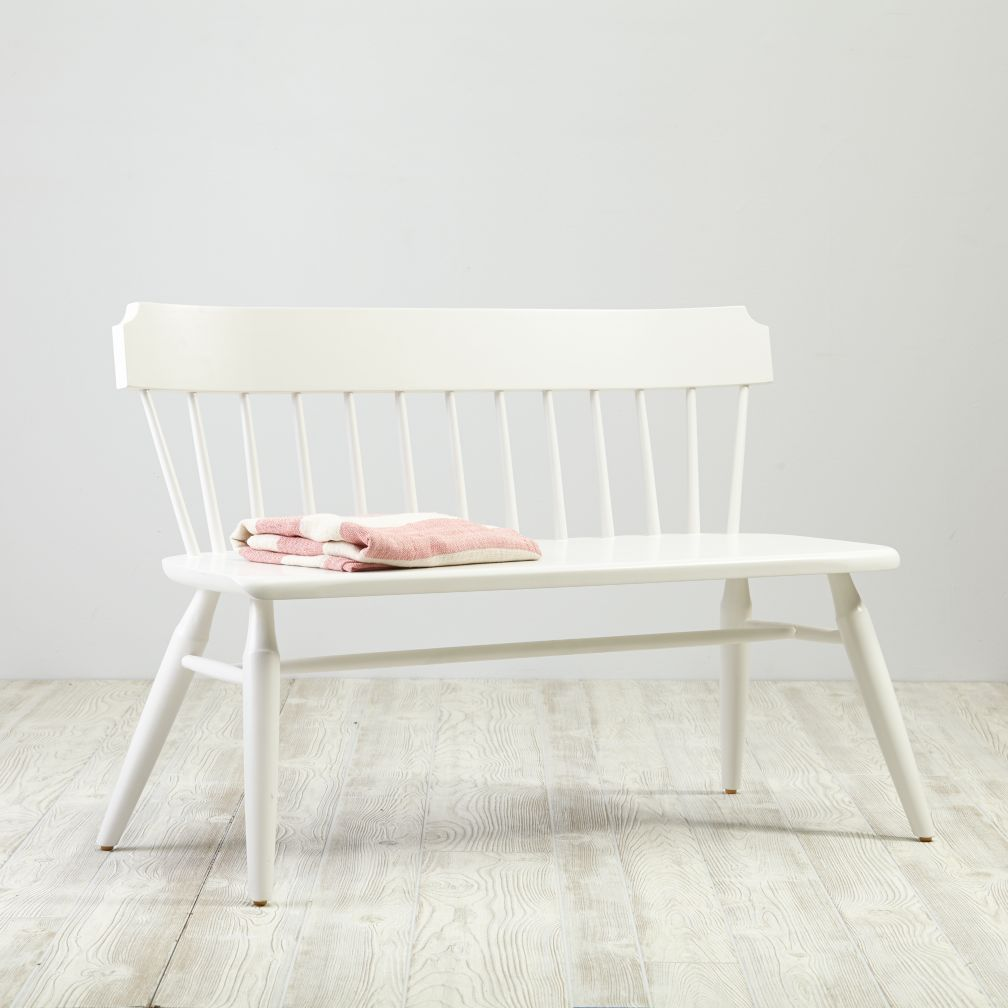 Flea Market Bench (White)