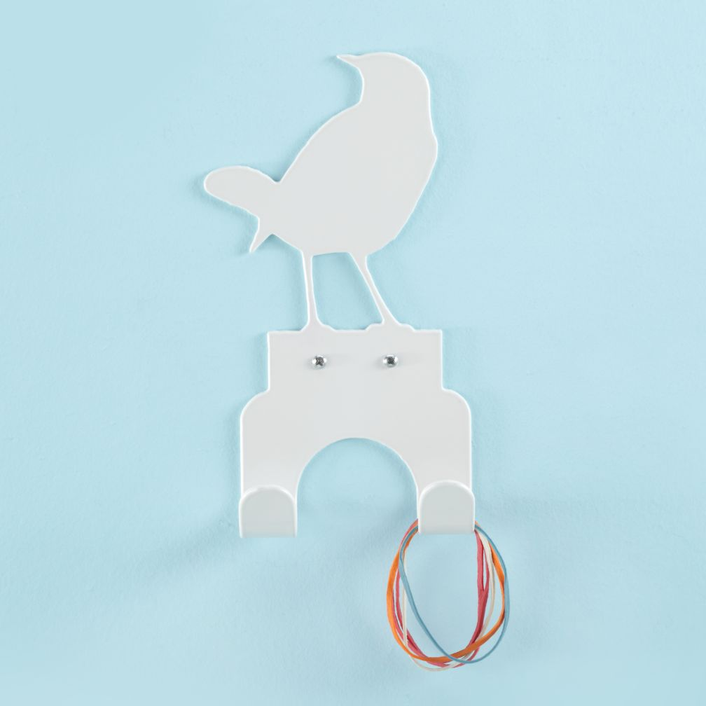 Bird's Eye Wall Hook (White)