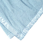 Personalized Lt. Blue Cuddle Me Softy Baby Blanket