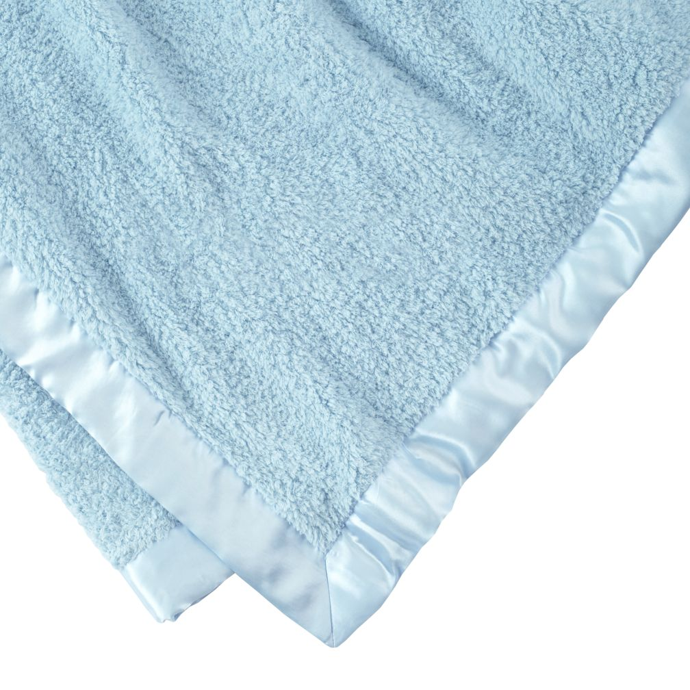 Personalzied Lt. Blue Cuddle Me Softy Baby Blanket