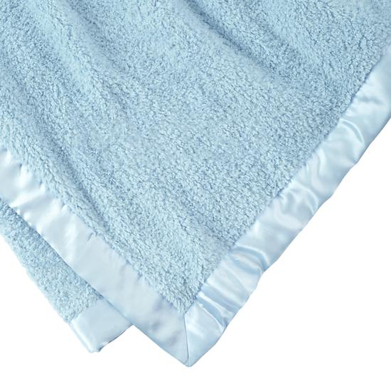Cuddle Me Softly Baby Blanket (Lt. Blue) | The Land of Nod