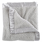 Grey Cuddle Me Softly Baby Blanket