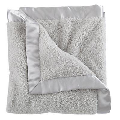 Cuddle Me Softly Baby Blanket (Grey)