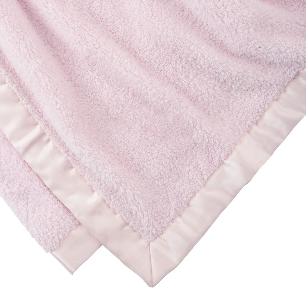 Personalized Pink Cuddle Me Softly Baby Blanket