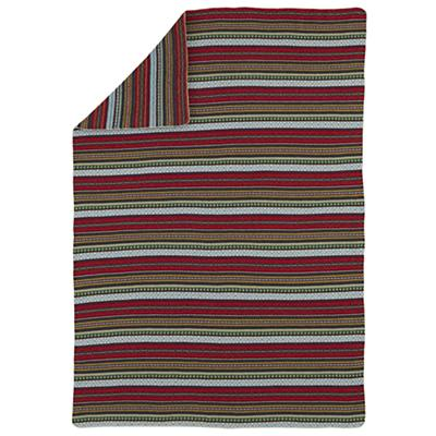 Fair Isle Throw Blanket