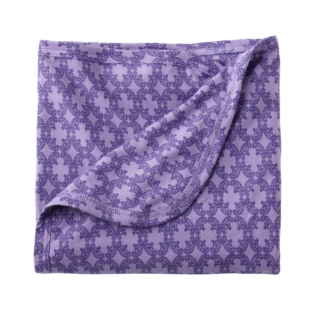 Purple Deco Security Blanket