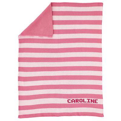MJK Knit Personalized Baby Blanket