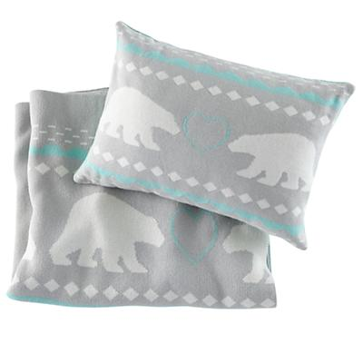 Polar Blanket & Pillow Set