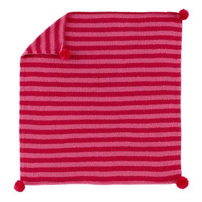 Pom Pom Blanket (Pink)