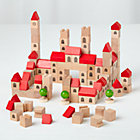Gothic City Wooden Block SetIncludes 123 Pieces