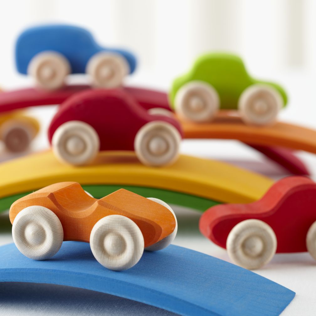 Rainbow Roadsters (Set of 6)