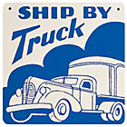 Truck Sign (Blue)