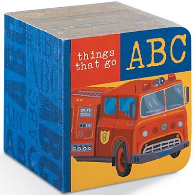 Things Go Block Board Book