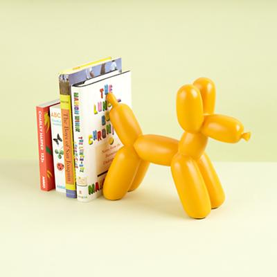 Balloon Animal Bookend (Orange)