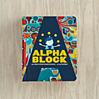 Alpha Block Board Book by Christopher Franceschelli