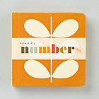 Numbers Board Book by Orla Kiely