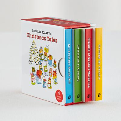 Richard Scarry's Christmas Tales (Set of 4)