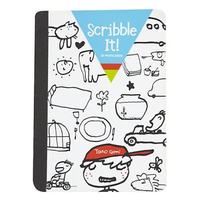 Scribble It Postcards