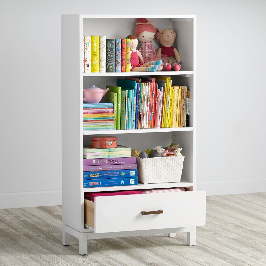 Cargo Bookcase  (White)