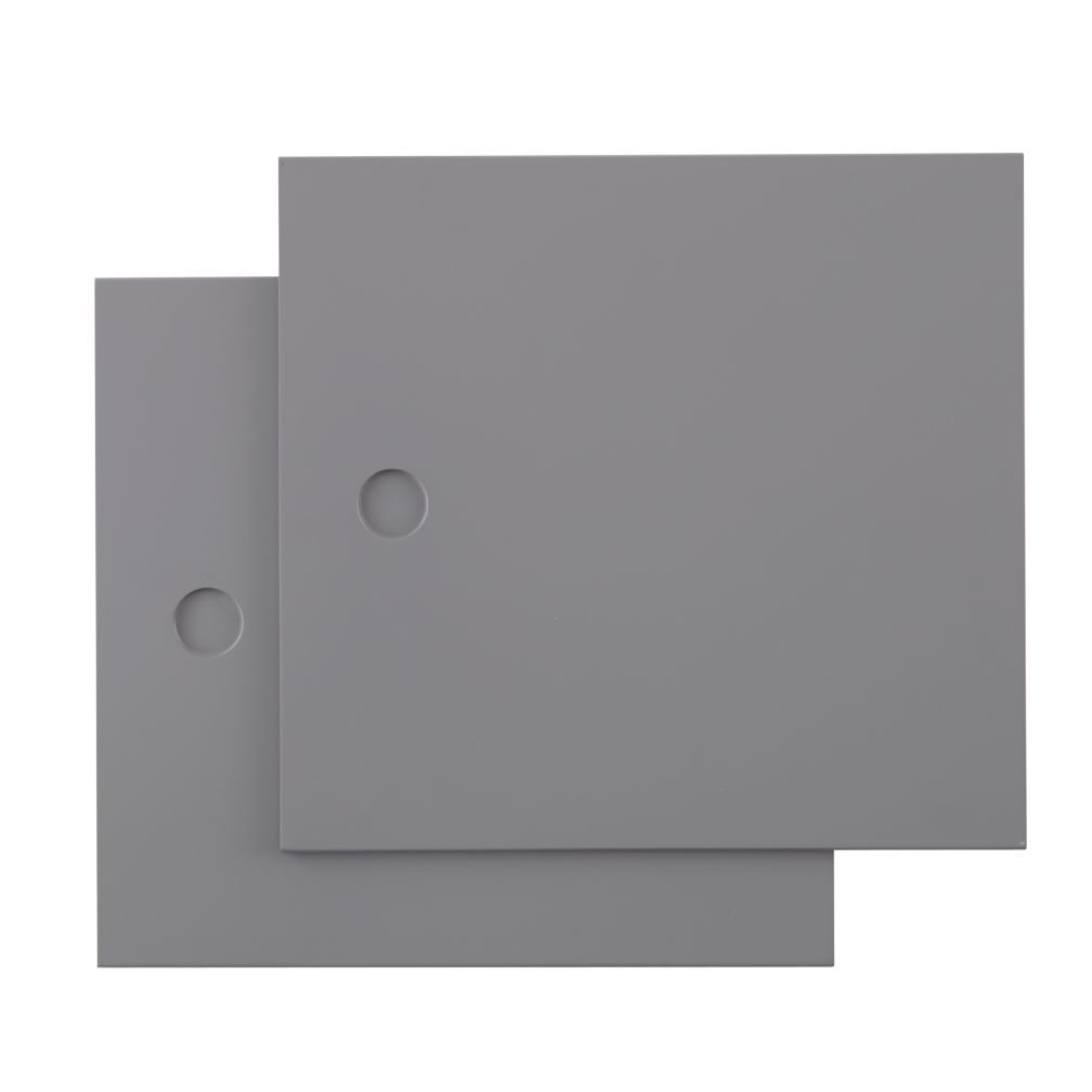 Grey District Door Panels/ Set of 2