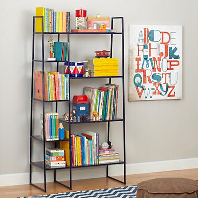 High Rise Bookshelf (Navy)