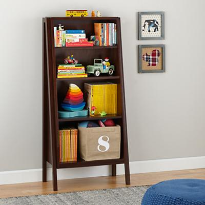 Graduated Tall Bookcase (Coffee)