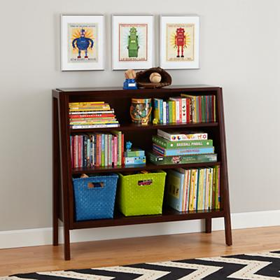 Graduated Wide Bookcase (Coffee)