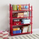 Jenny Lind Bookcase (Raspberry)
