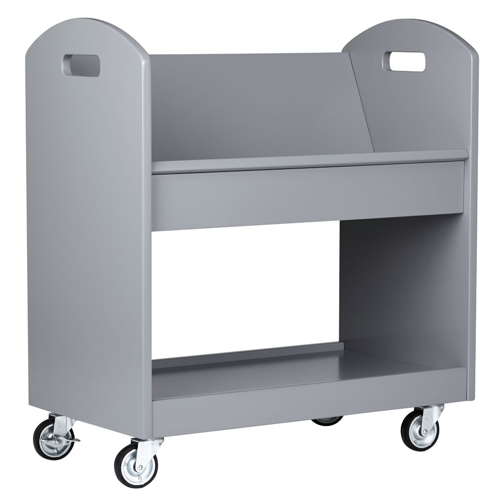 Local Branch Library Cart (Grey)
