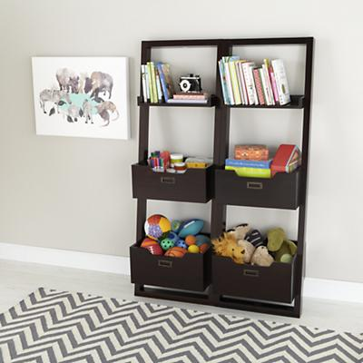 Little Sloane Leaning Bookcase (Java)